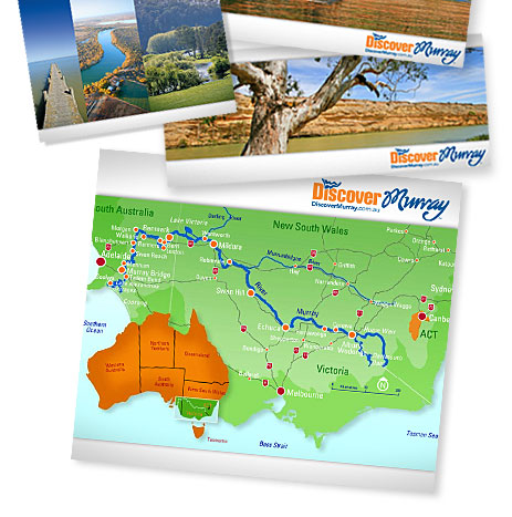 Discover Murray River Map